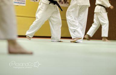 Etude du jeu de jambes et du positionnement des corps au judo