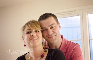 Un couple qui se marie en 2013
