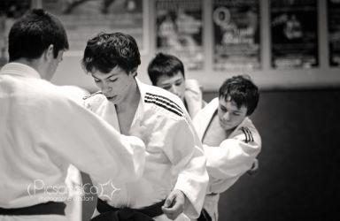 Position et étude stratégique pendant les cours de judo