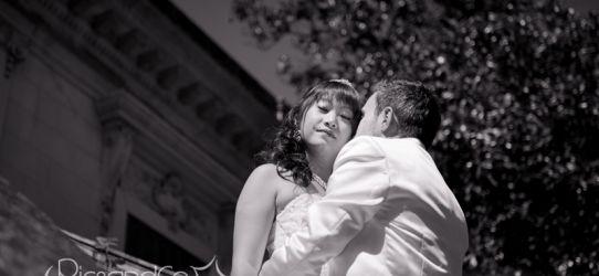 Photos de couple Mariage avec un Day After ensoleillé