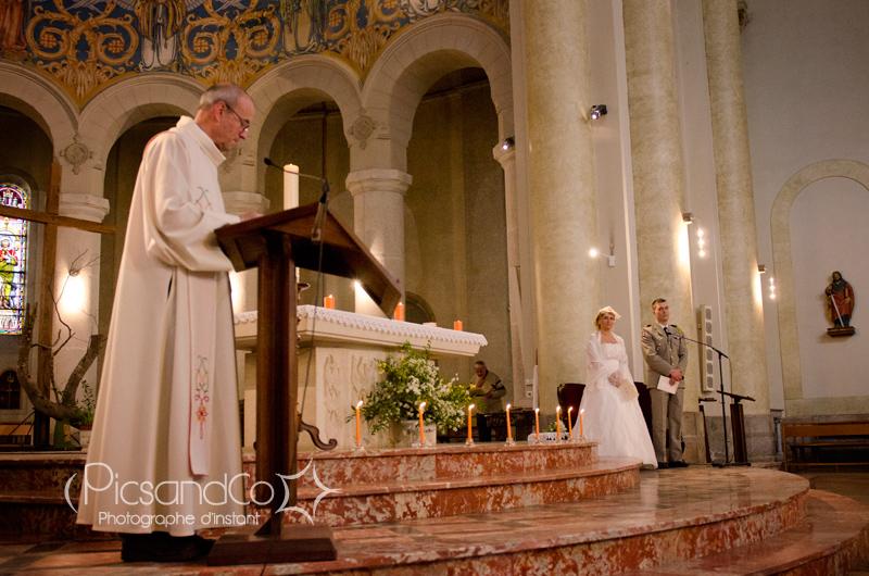 Cérémonie à l'église de Revel en Haute-Garonne