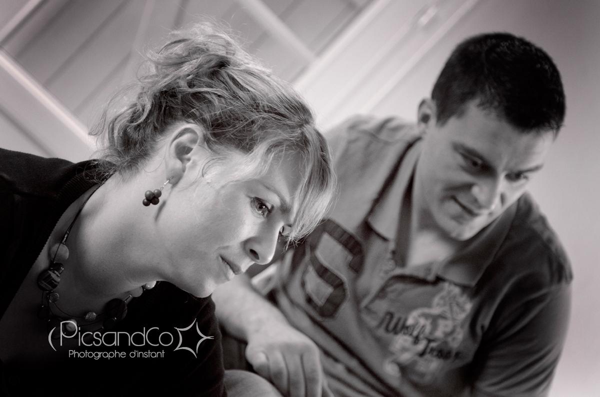 Séance futurs mariés en famille dans la région de Toulouse