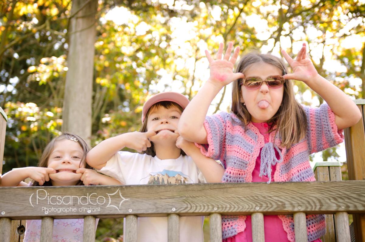Un peu de sérieux les filles pour la photo