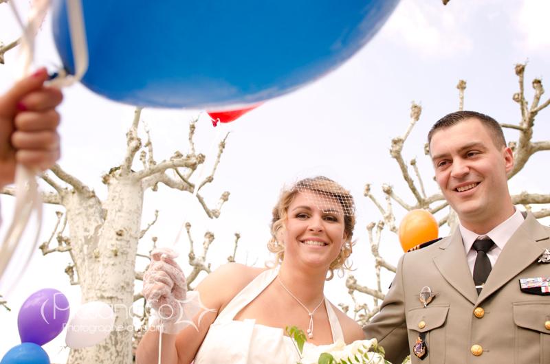 Mariage guinguette à Revel