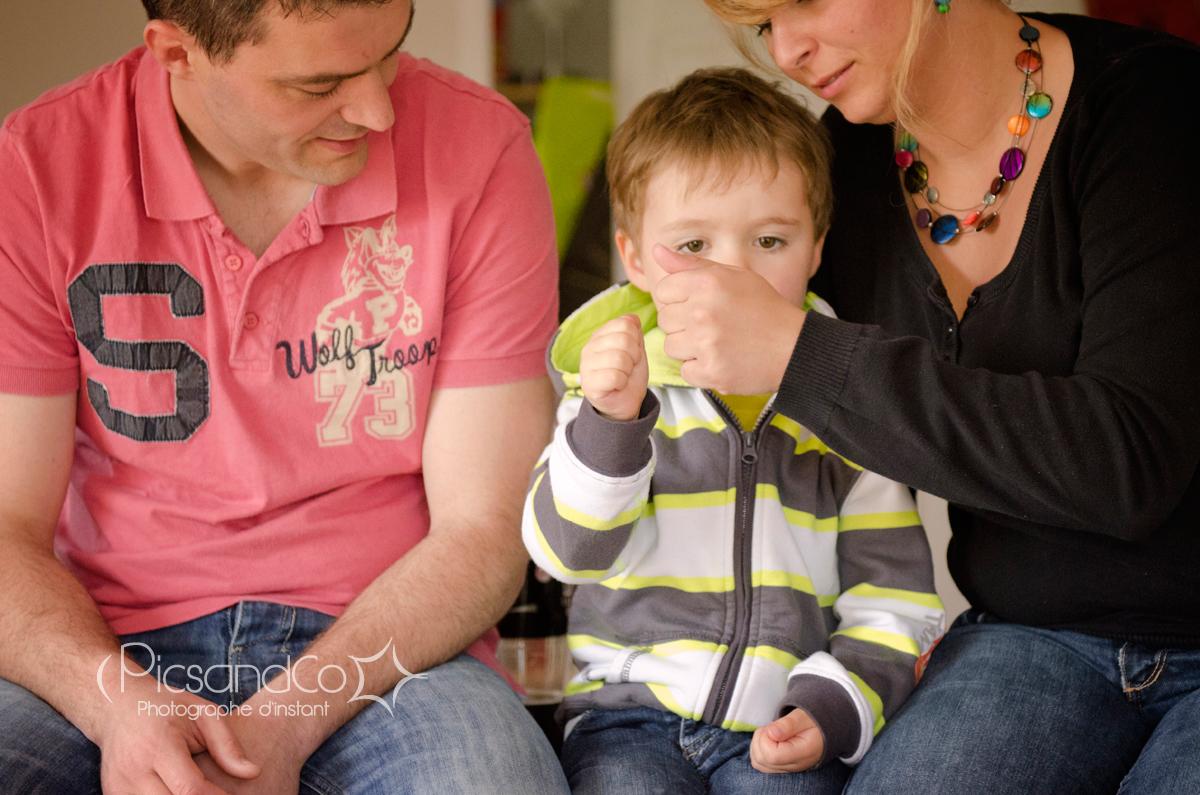 La famille partage plein de moments de complicité