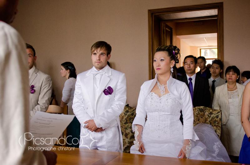 La cérémonie civile à la mairie, moment administratif du mariage