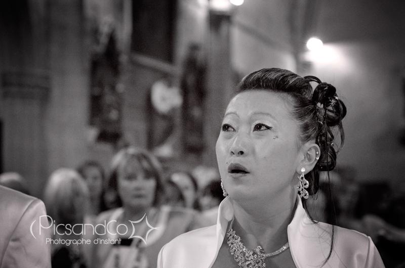 Gros moment d'émotion pendant la prière de la maman en Mong