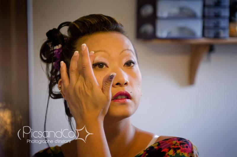 Préparation de la mariée dans le tarn