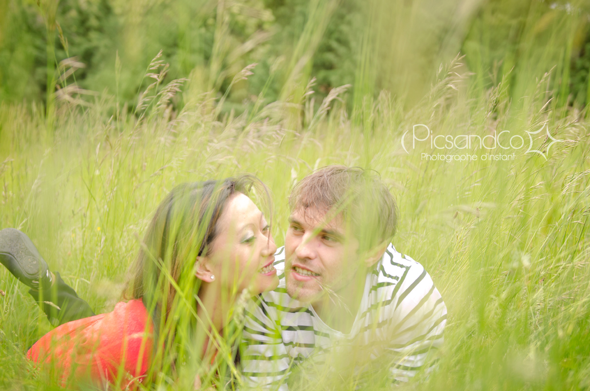 Les joies de la campagne pour une séance photo couple au top