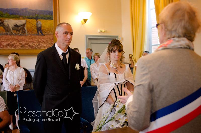 Mariage à Revel puis réception au Domaine de Las Planques