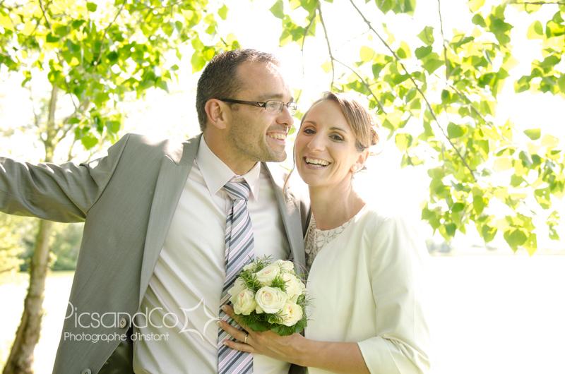 Séance couple pour un mariage à côté de Villefranche de Lauragais
