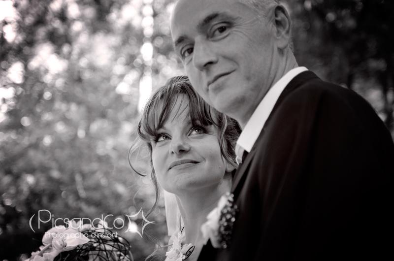 Le couple lors de la promenade à Saint Ferréol