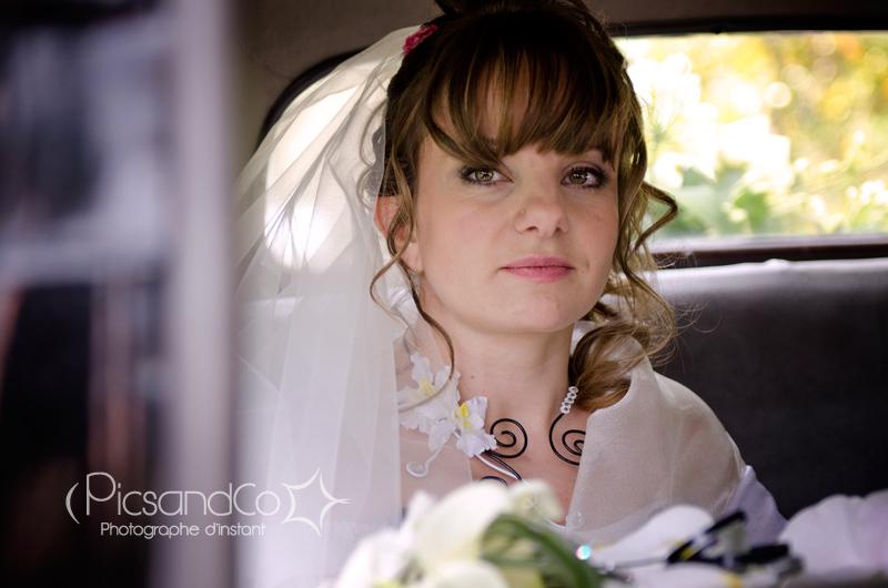 La mariée part retrouver son futur époux à Revel