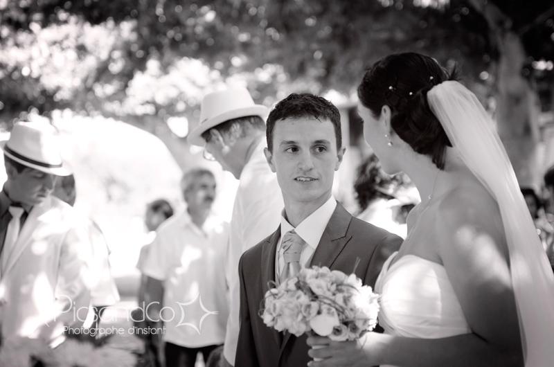 mariage en extérieur pour une jolie cérémonie civile à Montauban