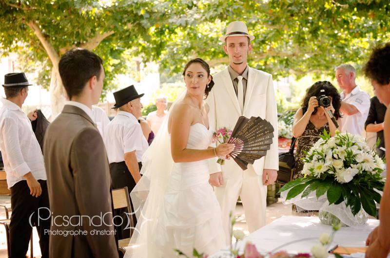 Cérémonie civile de Mariage en extérieur