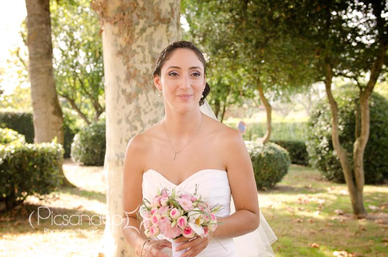 Petite montée de stress avant la cérémonie religieuse du Mariage