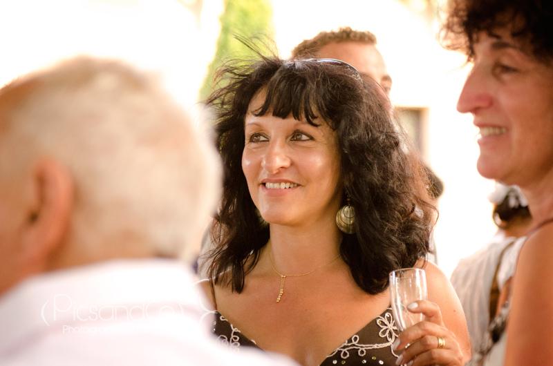Portrait volé pendant le vin d'honneur