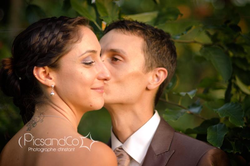 Petit couple toulousain dans les pommiers