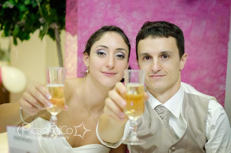 Félicitations aux mariés et plein de bonheur