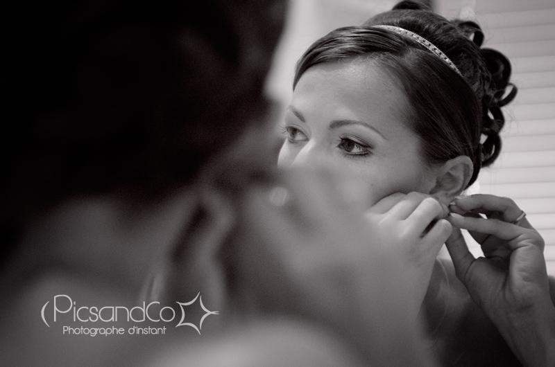 Reportage photo préparation de la mariée chez Carrière