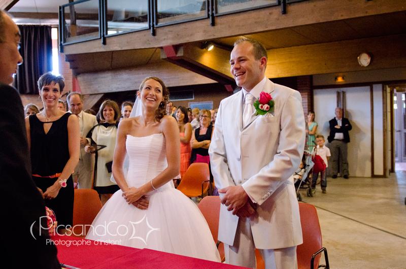 Photo mariage cérémonie civile à la mairie de Villefranche de Lauragais