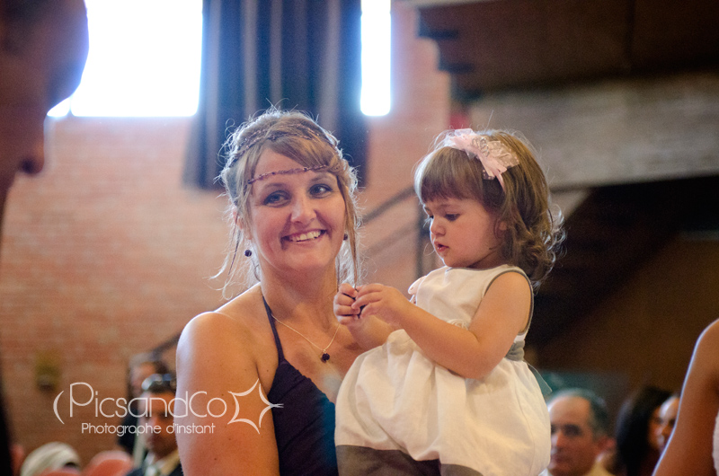 Baptême civil après le mariage de ses parents