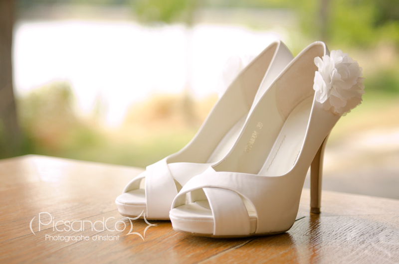 Les chaussures de la mariée, l'accessoire glamour du jour j !