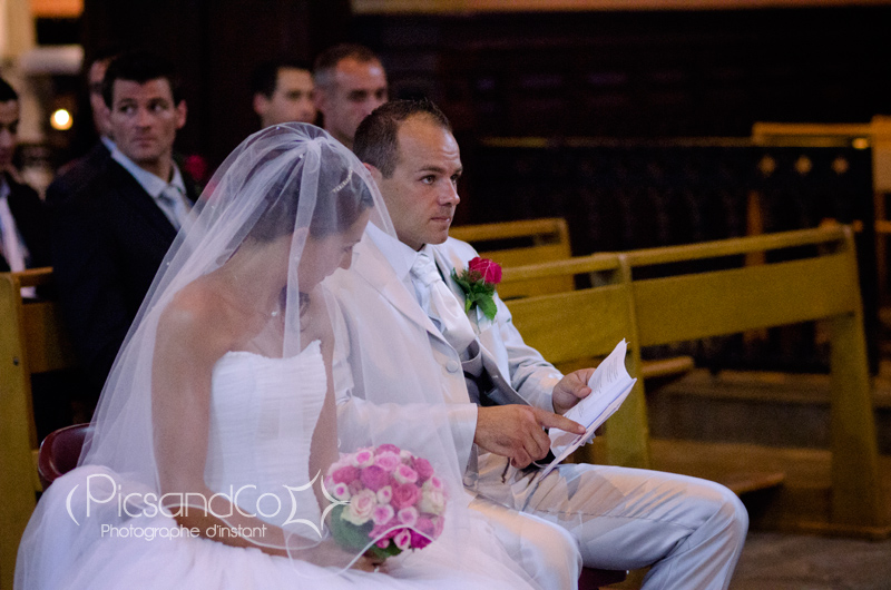 Texte pendant la cérémonie religieuse du mariage à l'église