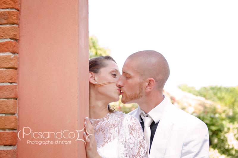Séance couple reportage photo mariage vers Toulouse