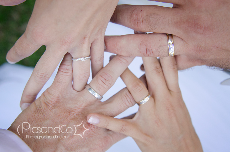 Les mariés du mois d'août et leurs alliances !