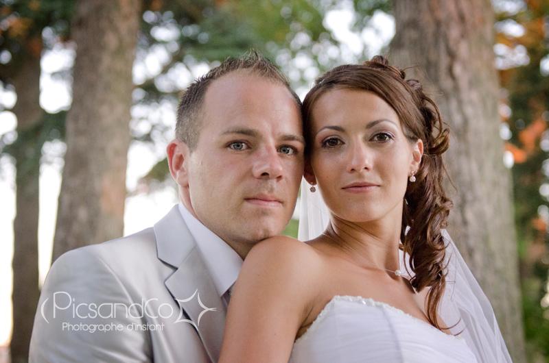 Portrait des mariés du 10.08.13 par PicsandCo Photographe d'instant