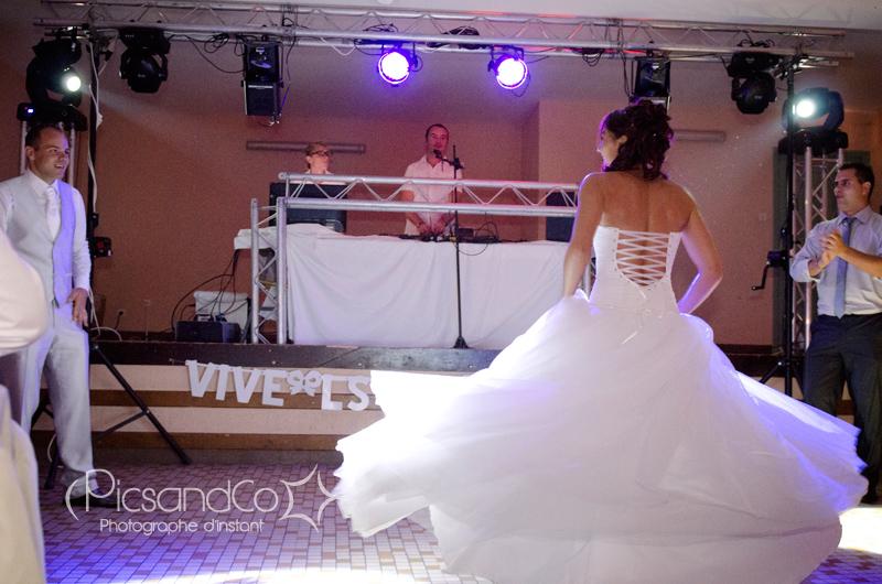 Danse d'entrée pour la soirée des mariés