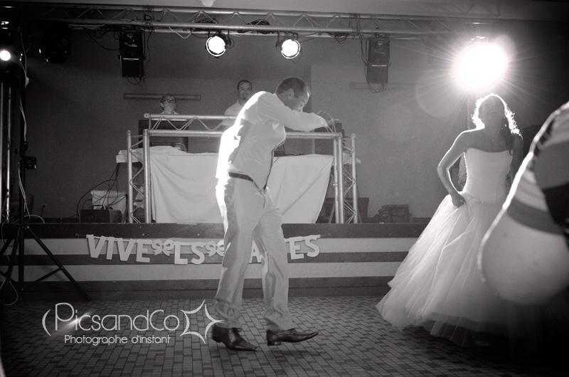 Danse des mariés sur la piste !