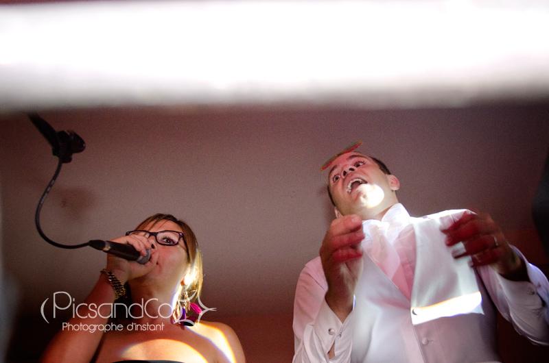 Petite chanson improvisée entre amie lors de la soirée du mariage