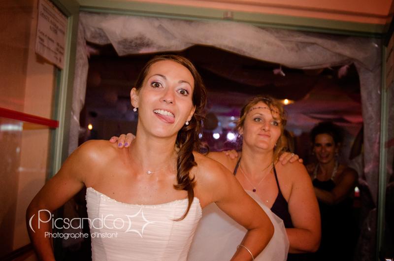 La soirée de mariage s'enchaîne sur le dance floor pour les mariés