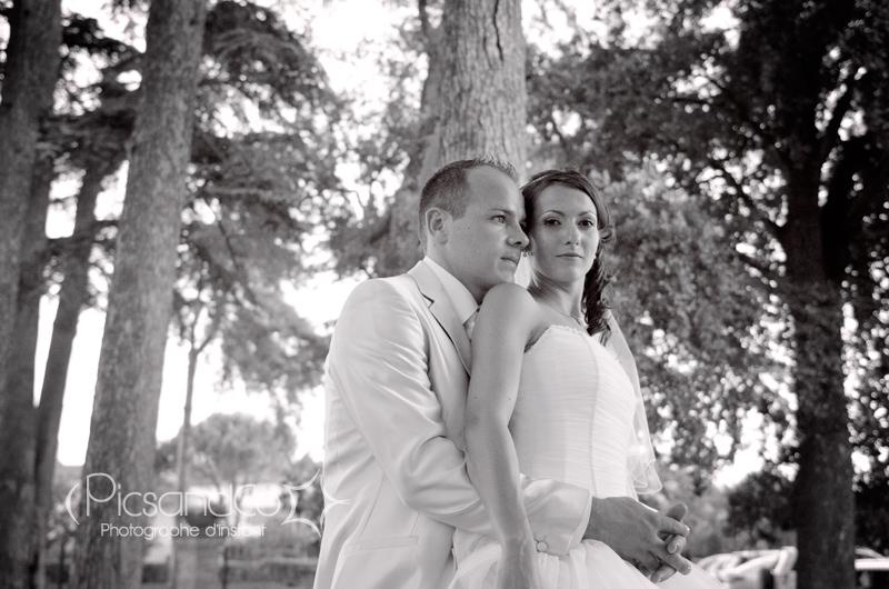 Reportage mariage et séance couple dans la journée près de Toulouse