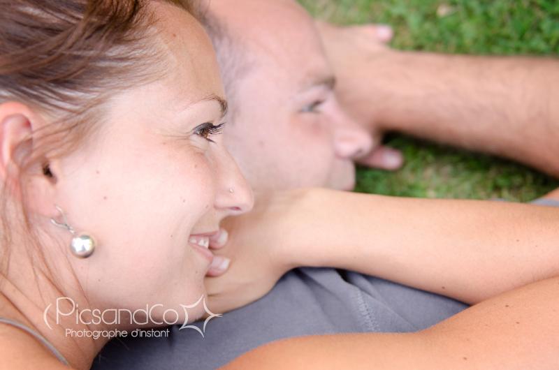 Portrait avant mariage pour ce super couple près de Toulouse