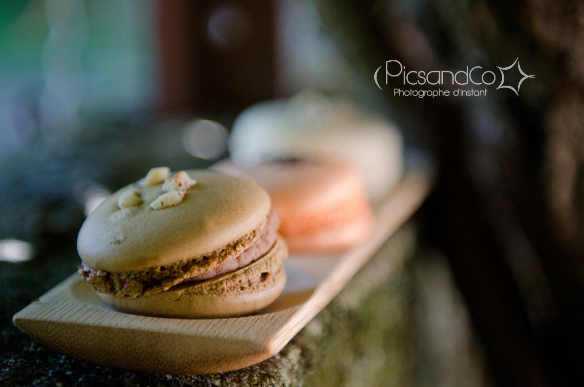 Photo gourmande avec ces jolis macarons des Gourmandises de Gwlad à Villefranche de Lauragais