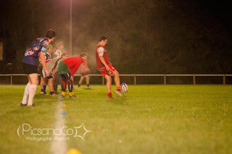 Photo sportive avec un petit reportage au club de rugby de Gardouch
