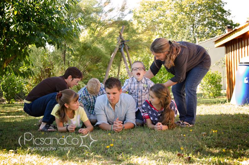 Séance photo enfants et famille vers Revel - Toulouse