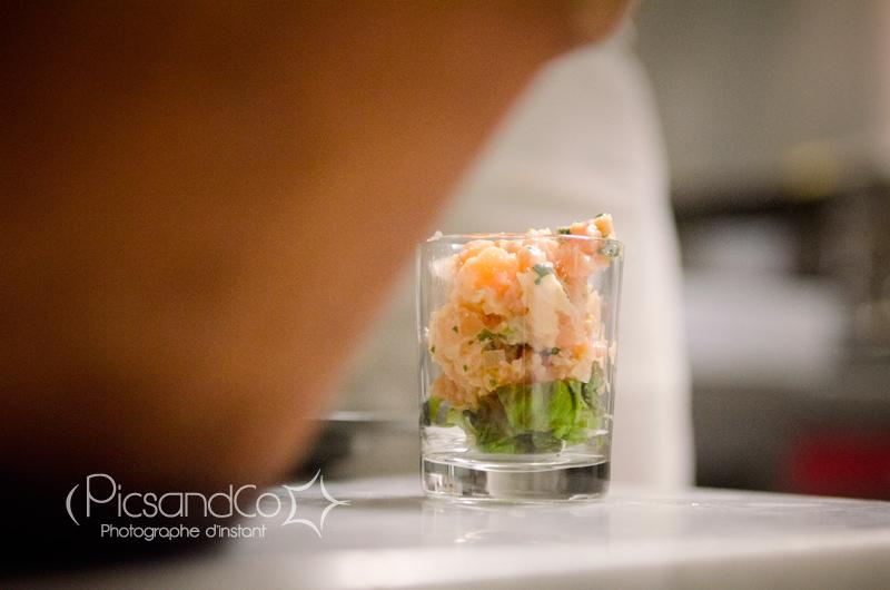 Photo dans les cuisines pour un reportage sur les tapas