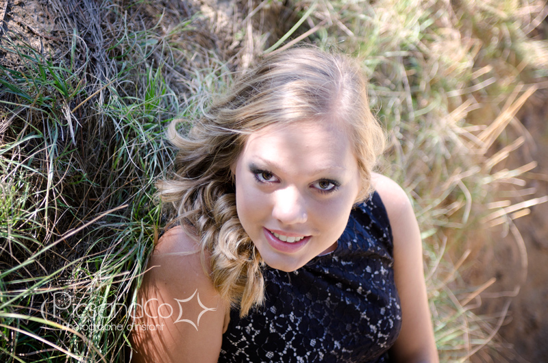 Portrait photo d'une jeune femme pour ses 18 ans