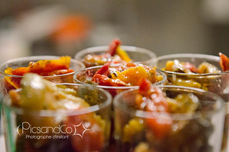 Photo de légumes marinées au Bar Tapas l'Amuleto - Toulouse