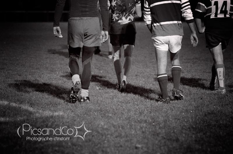 Séance photo pendant l'entraînement de rugby du Gardijol