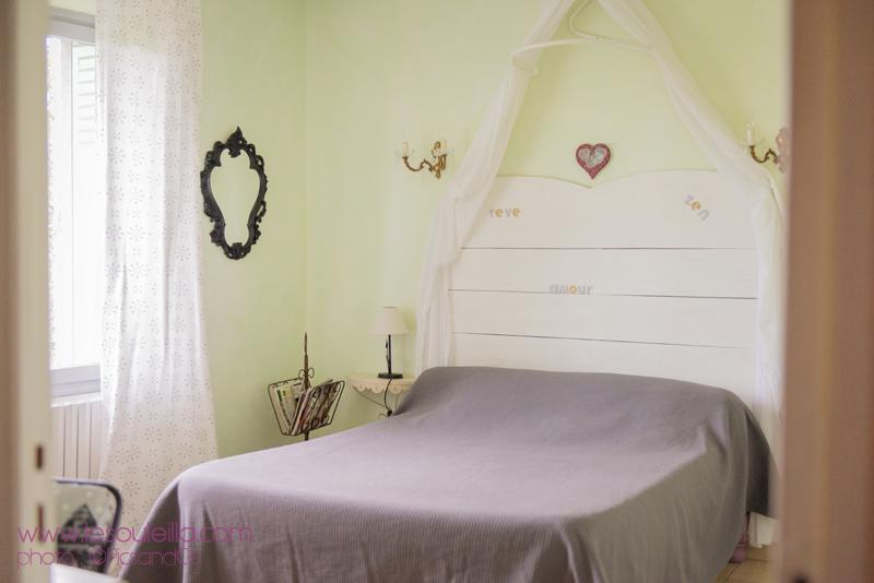 Chambre romantique pour cette chambre du Souleilla