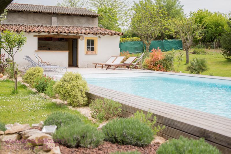 Photo piscine Le Souleilla au bord du Canal du Midi
