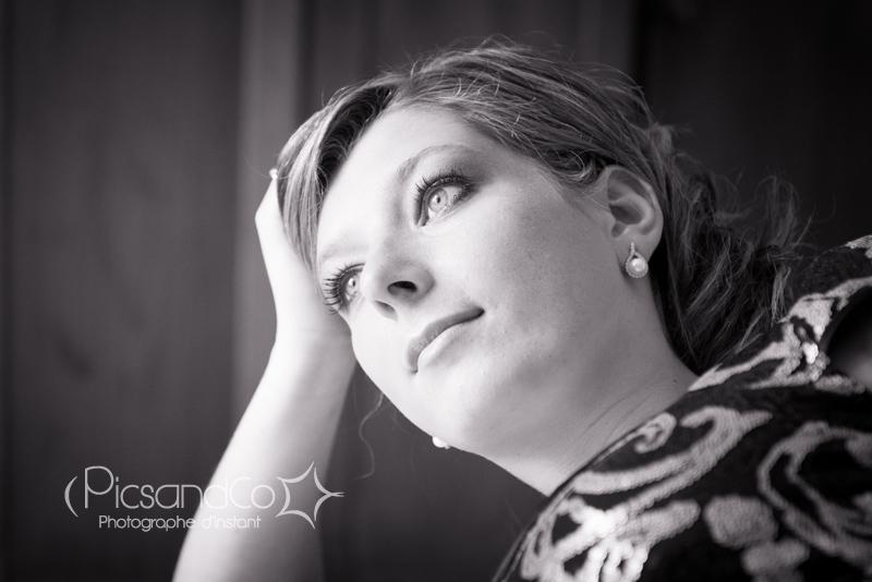 Portrait noir et blanc de PicsandCo, photographe d'instant